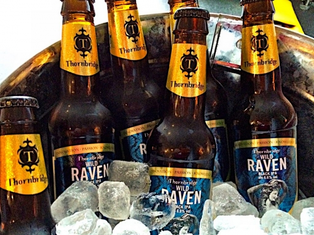 Live beer blogging - Thornbridge Wild Raven Black IPA