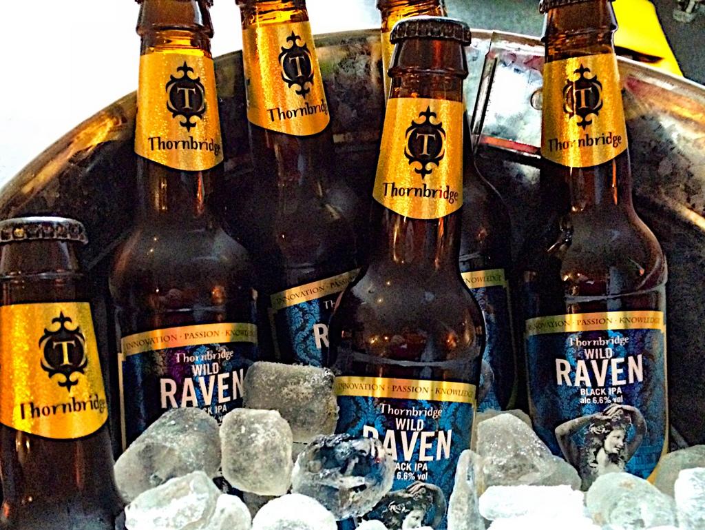Live beer blogging - Thornbridge Wild Raven Black IPA