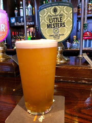 Single Hop Pale Ale at The Greystones Pub
