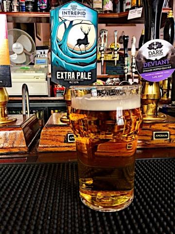 Intrepid Pale Ale at Shakespeares Pub