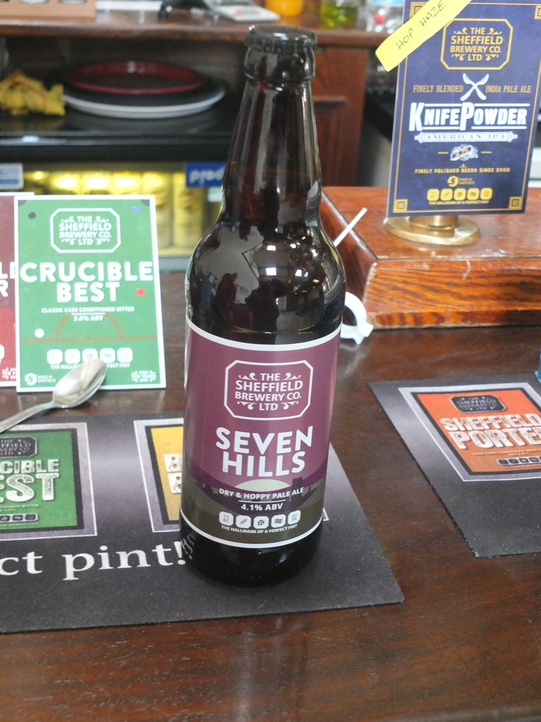 Sheffield Brewery flagship brew - Seven Hills
