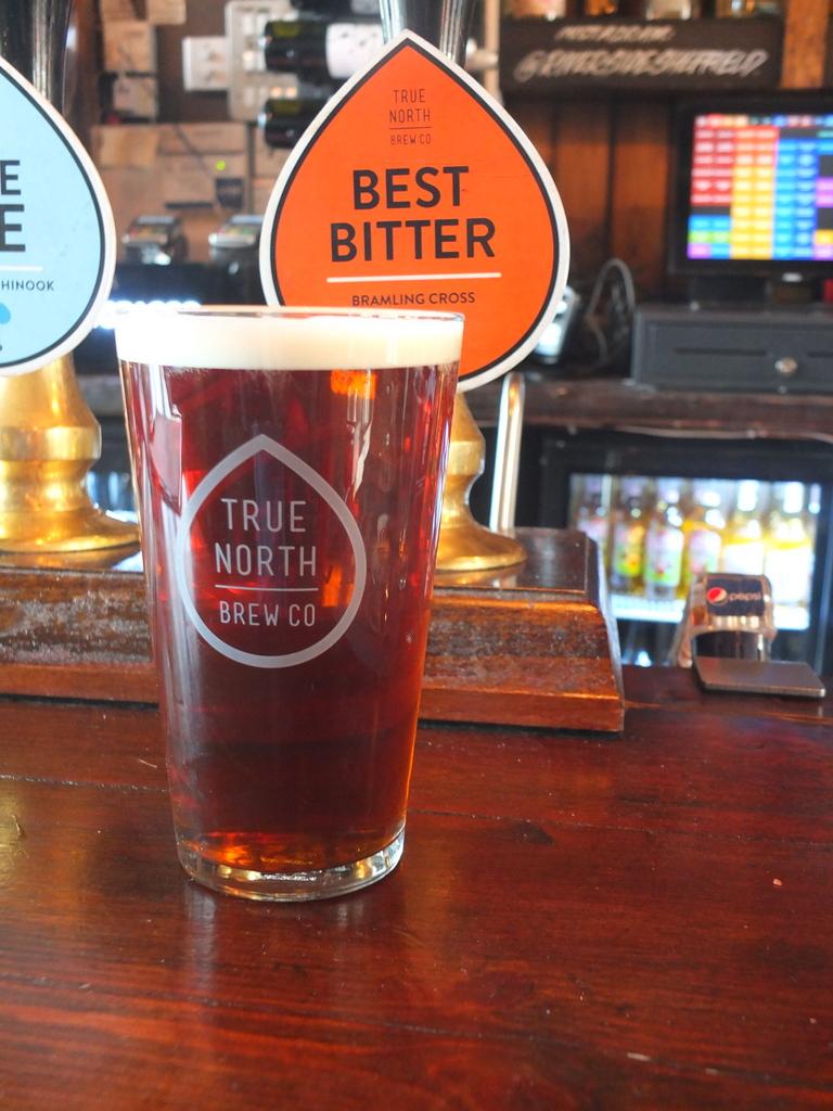True North Best Bitter at the Riverside