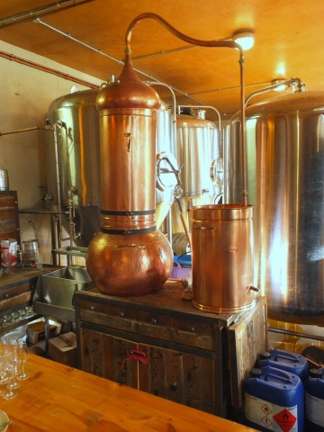 True North Brewing Company distiller