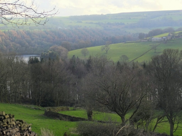 High Bradfield countryside