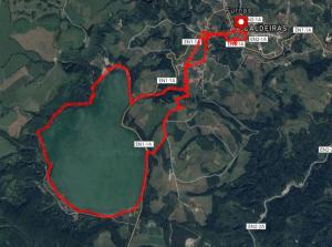 Lagoa Furnas Circuit Day Hike Route