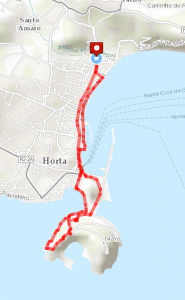 Entre Monte - Horta Day Hike Route