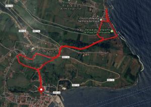 Rocha Vermelha Day Hike Route